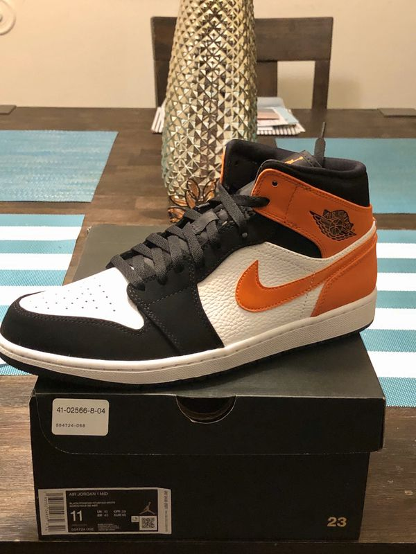 Nike Air Jordan 1 mid Shattered Backboard Sz 11