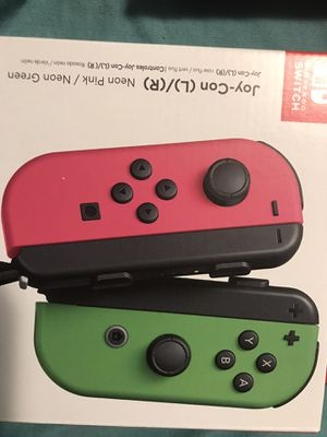 Pink an neon joy con L R Brand new for Sale in Bakersfield, CA