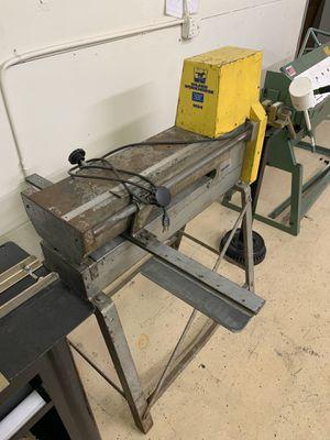 Wilder 1624 sheet metal slitter for Sale in San Antonio, TX