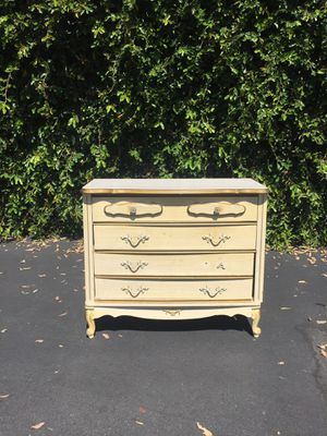 Vintage French Provincial Small Dresser Petite Chest of Drawers for Sale in Pomona, CA