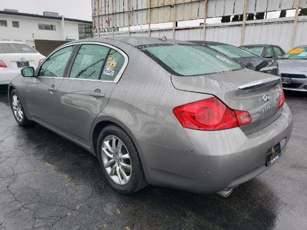 2009 INFINITI G37 Sedan