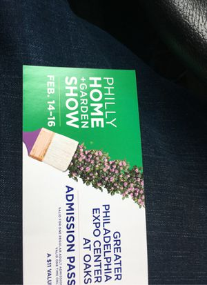 4 philly home show tickets for Sale in Upper Gwynedd, PA