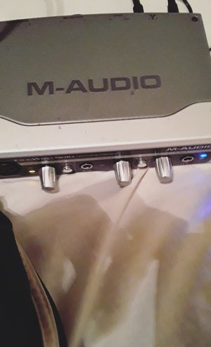 Fire Wire - M - Audio Interface 25$ for Sale in Detroit, MI