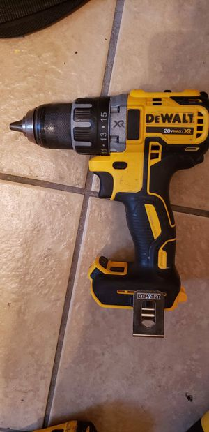 Dewalt 20volt brushless drill (tool only) $50 for Sale in Houston, TX
