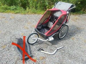 THULE CHARIOT COUGAR 2 STROLLER AND BIKE TRAILER for Sale in Rosenberg, TX