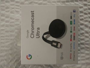 CHROMECAST ULTRA for Sale in Chico, CA