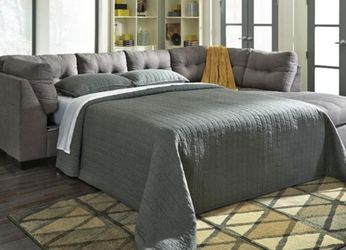 $50 Down Financing!! NEW GREY SECTIONAL SOFA WITH SLEEPER!! for Sale in Oviedo,  FL