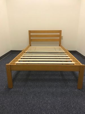 Brand New Twin Platform Bed Frame in Box for Sale in Wilmington, NC