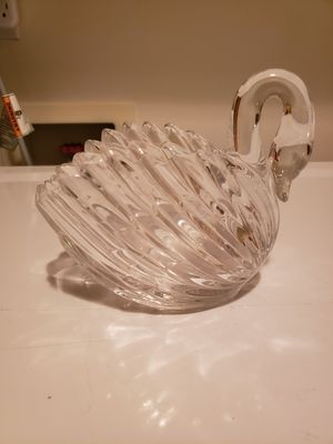 Vintage German 24%-Lead Crystal Open Open Candy Dish/Trinket Box for Sale in Seattle, WA