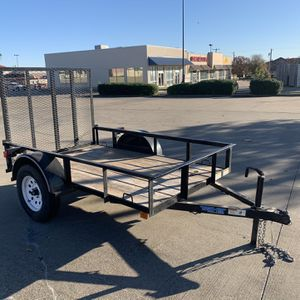 Top Hatter 5x8 Utility Trailer for Sale in Mesquite, TX