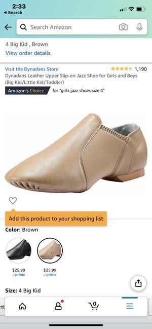 Size 4 kids dance shoes for Sale in North Tonawanda, NY