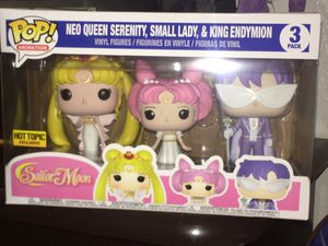 Sailor Moon trio funko pop set. for Sale in San Diego, CA