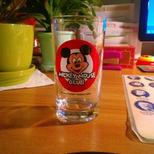Vintage Mickey Mouse Club Glass for Sale in Morrisville, PA