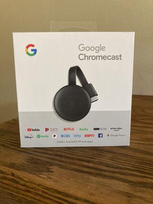 Google Chromecast (3rd edition) for Sale in San Diego, CA