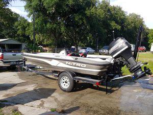 2001 Nitro Bass Boat. for Sale in Auburndale, FL