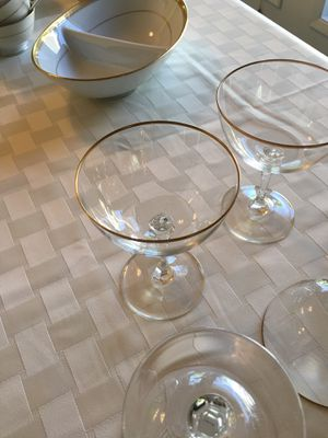 Lenox china and glassware set of 12 for Sale in Seattle, WA