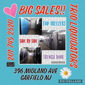 Refrigerators BIG SALE !! for Sale in Passaic, NJ