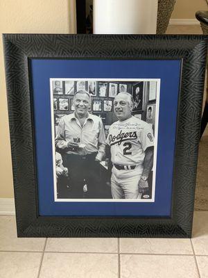 """Rare!! Tommy Lasorda signed """"Dodger blue eyes"""" for Sale in Tampa, FL"""