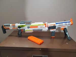 Nerf Modulus + 30 darts + extra attachments for Sale in Berryville, VA