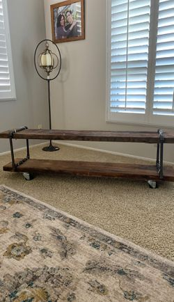 TV stand - antique wood from LA home for Sale in Pico Rivera,  CA