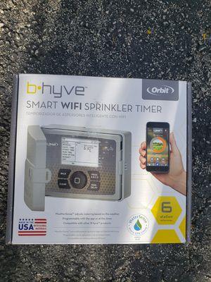 Orbit b.hyve smart wifi indoor and outdoor sprinkler timer for Sale in Pompano Beach, FL