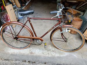 Vintage Raleigh dl 22 campus classic 2 speed coffee from 1976-78 Generator set is from France for Sale in Stow, OH