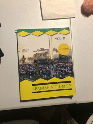 Spanish Volume 2 (Cypress College) for Sale in Anaheim, CA
