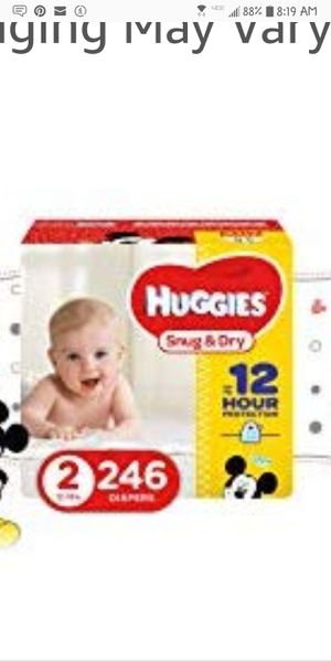 Huggies Economy Size Diapers for Sale in Fountain, CO
