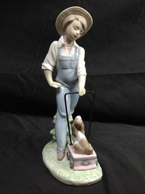 Lladro Saturday's Child #6021 Figurine - Boy & Puppy Dog MINT for Sale in Largo, FL