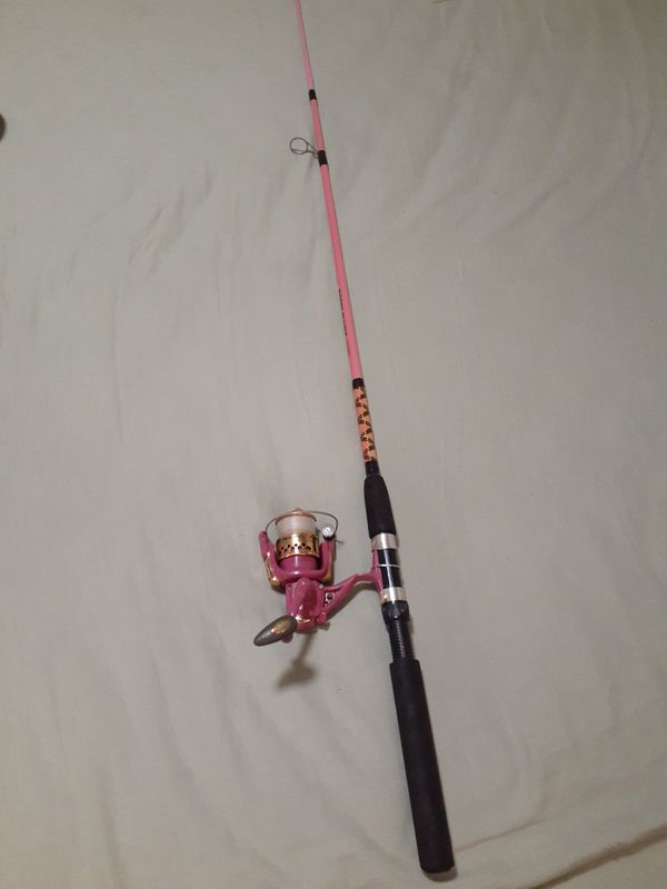 Roddy Lights, fishing Rod, Reel, For girls and woman of all ages. Led lite show every time you turn the handle.$30