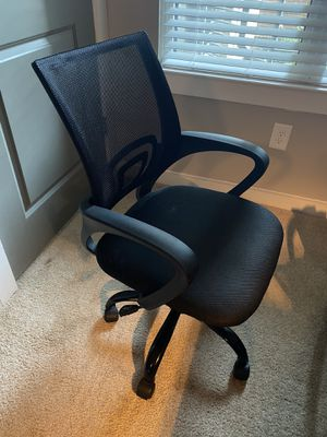 Black desk chair for Sale in Durham, NC
