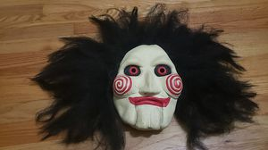 Halloween Costume Mask / SAW Mask / used for Sale in Chicago, IL