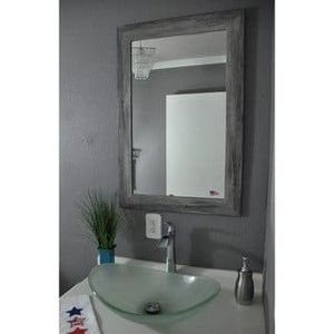 Carbon Loft Goldie distressed silver wall mirror brand new for Sale in Alexandria, VA