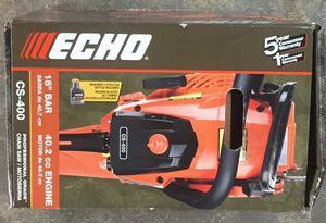 """Echo 18"""" Bar chainsaw for Sale in Hallandale Beach, FL"""
