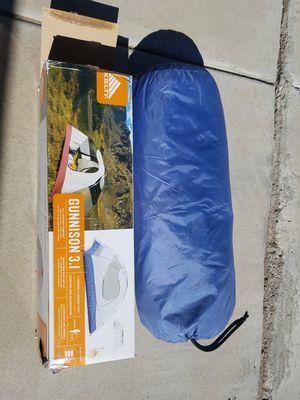 Kelty Gunnison 3 person tent, used 4x for Sale in Phoenix, AZ