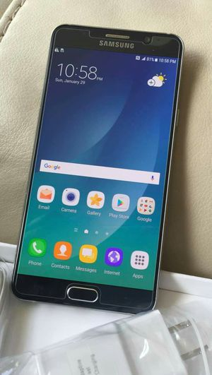 SAMSUNG Galaxy Note 5, UNLOCKED...Perfect Condition..Like New. Negotiable Price. for Sale in Springfield, VA