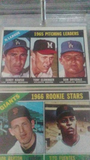 1966 baseball cards for Sale in Concord, CA
