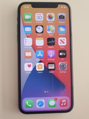 Iphone x 256gb factory unlocked. Perfect condition for Sale in Cambridge, MA
