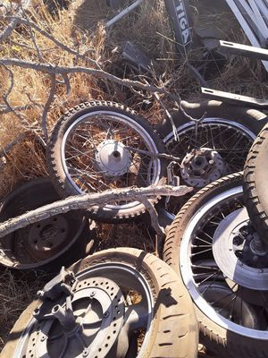 Motorcycle wheels and other parts for Sale in Madera, CA