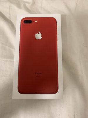 iPhone 7plus red product unlocked for Sale in Silver Spring, MD