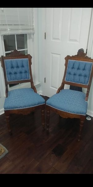 Pair of Antique Eastlake Chairs for Sale in Greer, SC