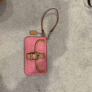 Pink Coach Wristlet for Sale in Columbia, SC