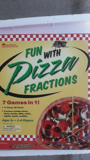 Fun With Pizza Fractions. My kid learn fractions playing this game. for Sale in Peoria, AZ