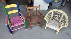 Cute kid's rocking chair lot for Sale in Keller, TX