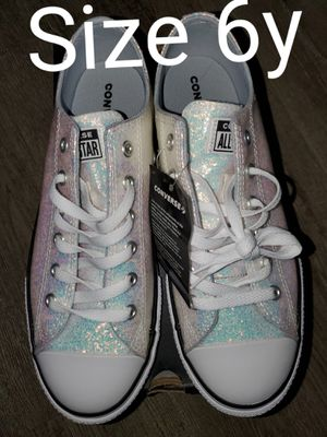 NEW- All Star Converse size 6 youth for Sale in Renton, WA