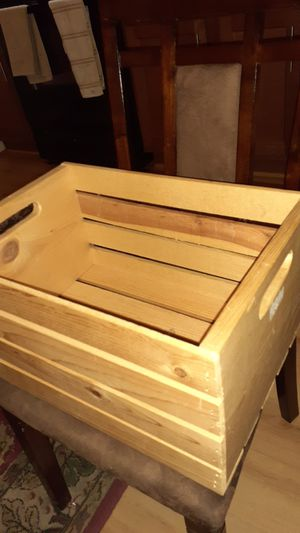 Wood Storage Crate for Sale in Washington, DC
