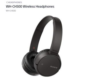 Sony WH-CH500 Bluetooth Wireless Headphone for Sale in Garland, TX