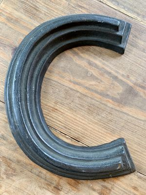 """Rustic Metal Letter """"C"""" for Sale in Charlotte, NC"""