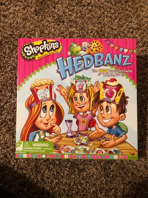 Shopkins Hedbanz game for Sale in Whittier, CA