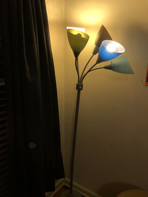Colorful floor lamp for Sale in Greensboro, NC